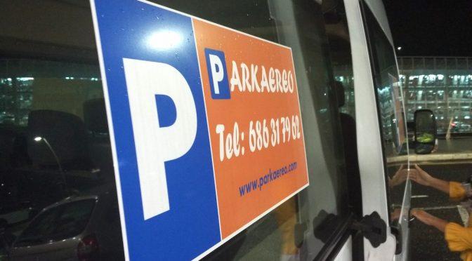 Parkaereo, aparcar en el aeropuerto de Bilbao sin dejarte un ojo de la cara