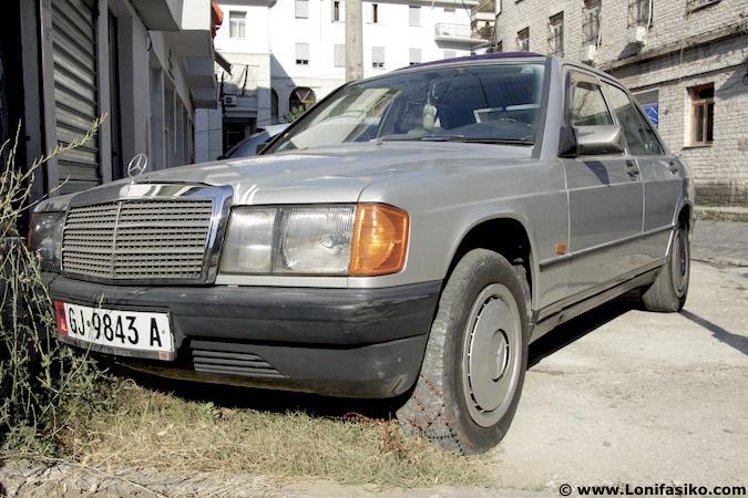 Albania Mercedes coches antiguos fotos