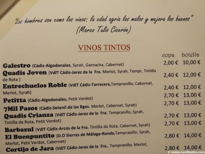 La Divina restaurante El Bosque Cádiz