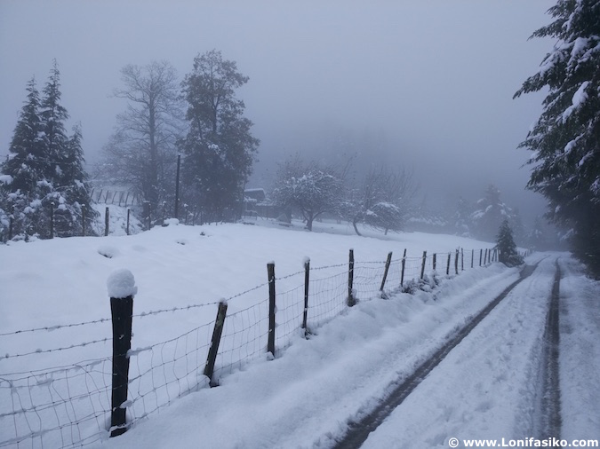 eibar fotos nieve
