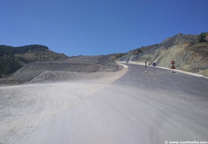 albania carreteras obras
