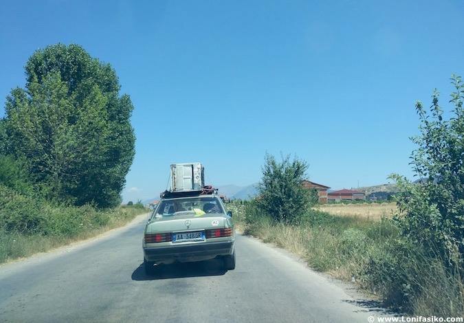 albania carreteras seguridad