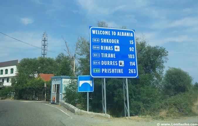 Viajar a Albania en coche