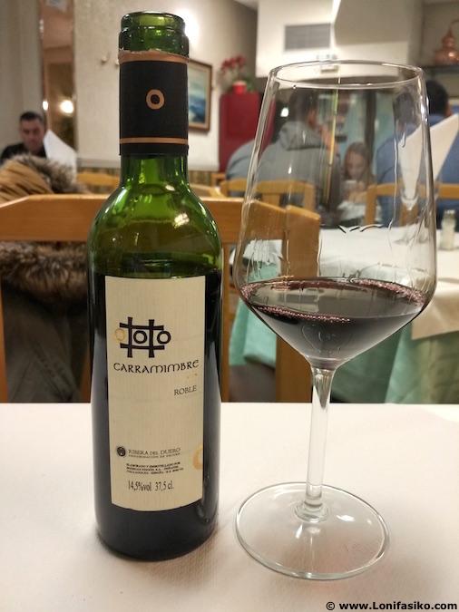 Carramimbre roble vino tinto