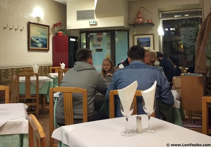 Menú del día barato en Madrid centro