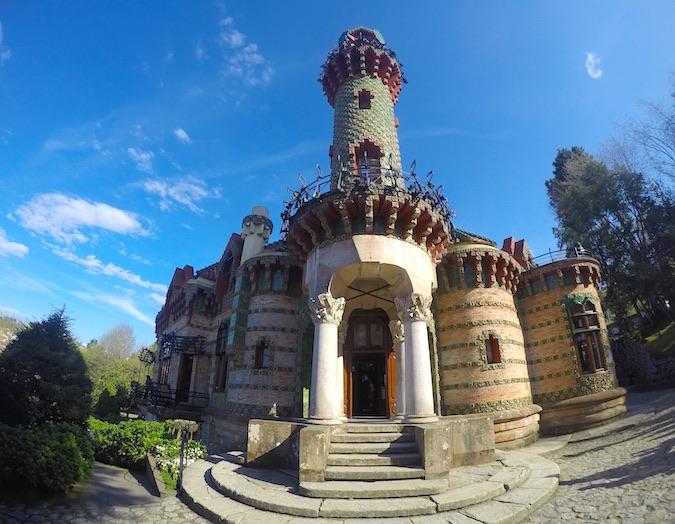 Visitar el Capricho de Gaudí en Comillas (Cantabria)