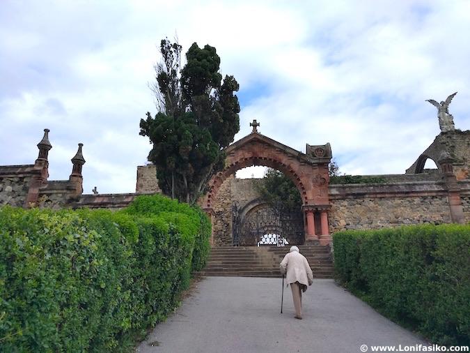 Cementerio Comillas Cantabria