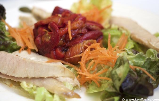 Menú en Restaurante Rincón de España en Burgos