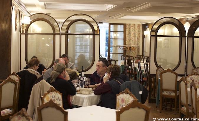 restaurante Rincón de España Burgos