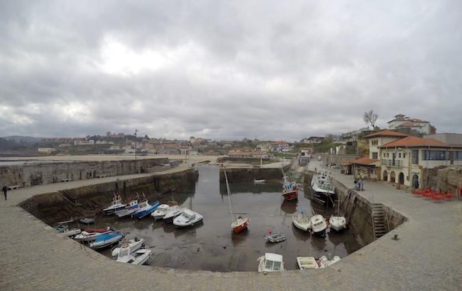 Puerto de Comillas en Cantabria