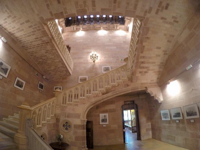 Palacio Sobrellano en Comillas, Cantabria