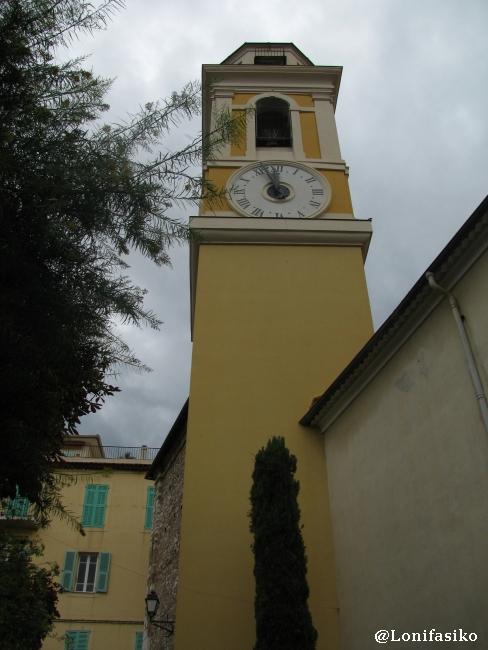 Torre y reloj de la Iglesia de San Miguel (Église Saint-Michel)