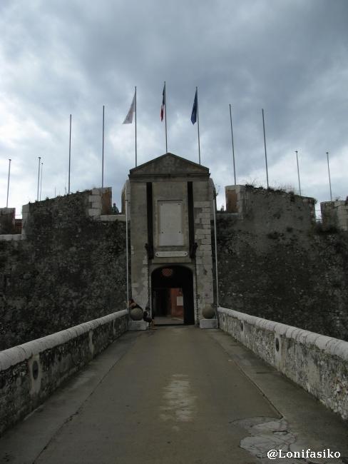 Entrada a la ciudadela del siglo XVI