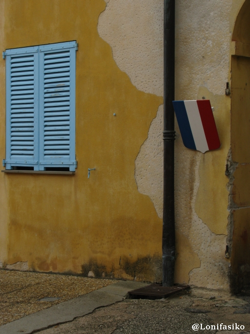 Interior de la ciudadela de Saint-Elme