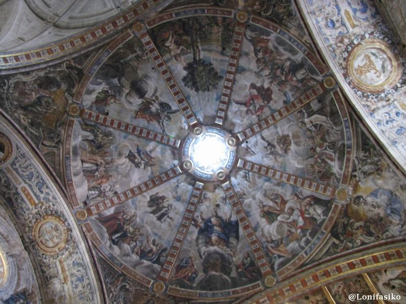 Bóveda de la Iglesia Parroquial de Nuestra Señora de la Asunción