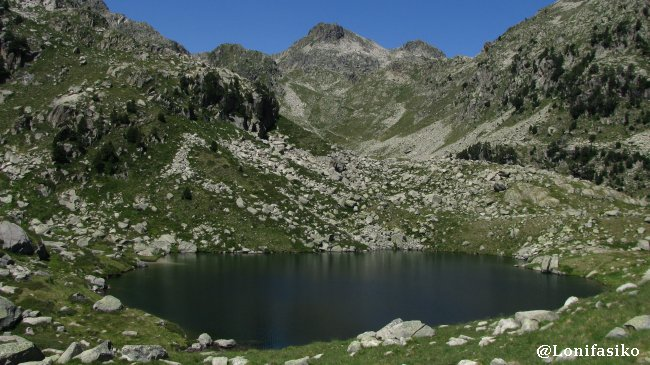 Estanh Mòrt Colomers Val d'Aran