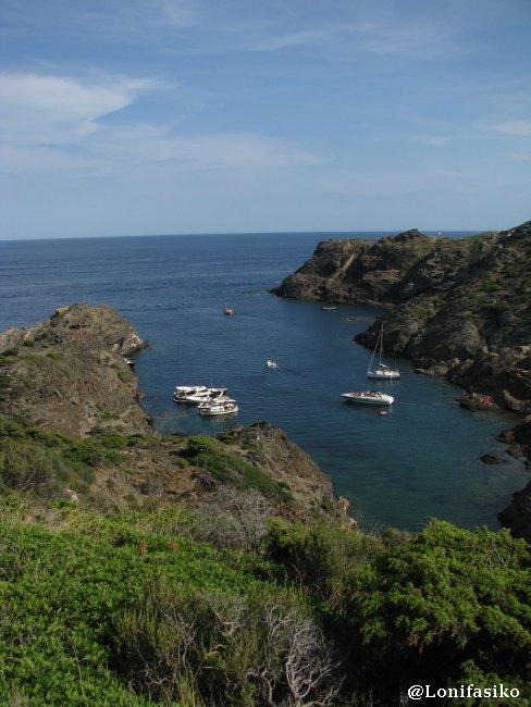Cala en el Cap de Creus, en la Costa Brava