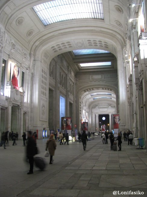 Estación de Milano Centrale
