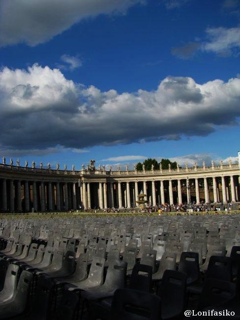 Misa en la Plaza de San Pedro del Vaticano
