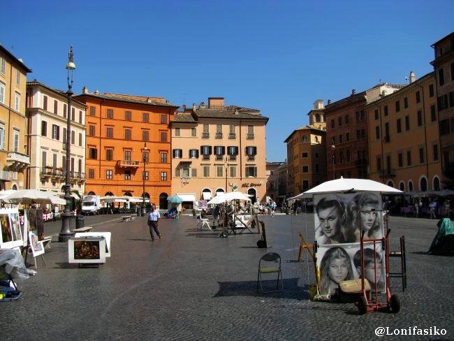 Plazas de Roma: Piazza Navona