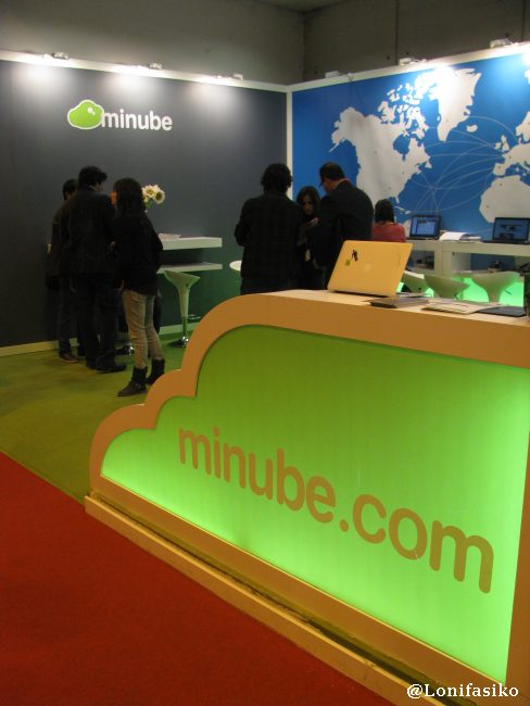 Stand de minube.com en Fitur 2013