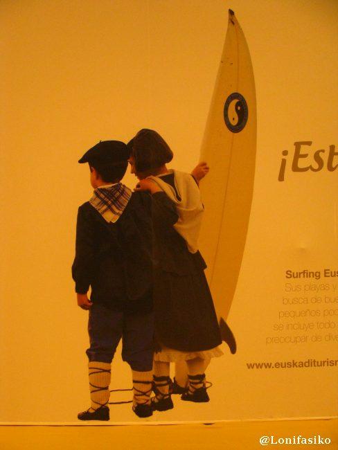 Imagen creativa y diferente en el stand de Euskadi en Fitur 2013