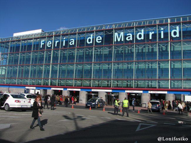 Puerta Sur de IFEMA, donde llega la línea 8 del metro de Madrid