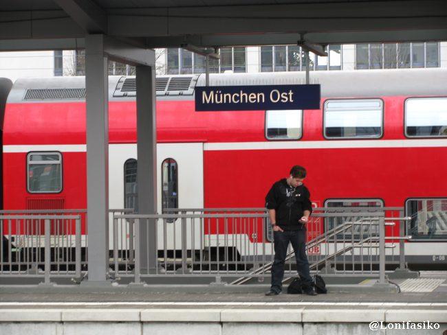 Estación de tren de München Ost