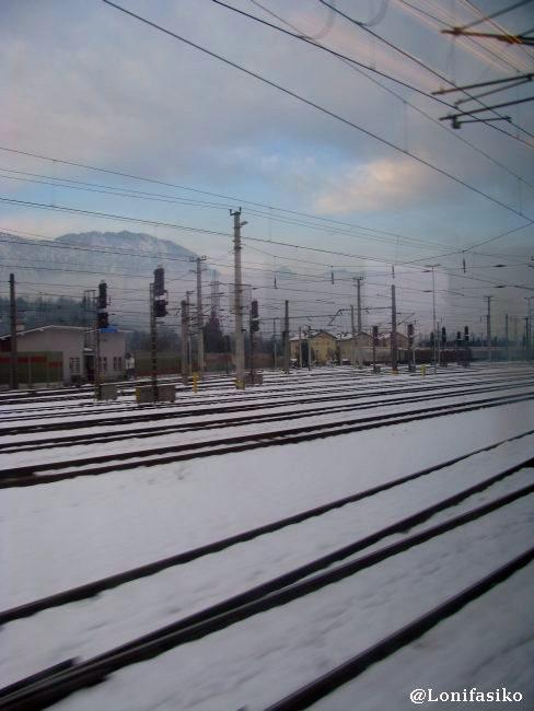 Una de las paradas que hace el tren en el trayecto Munich-Innsbruck
