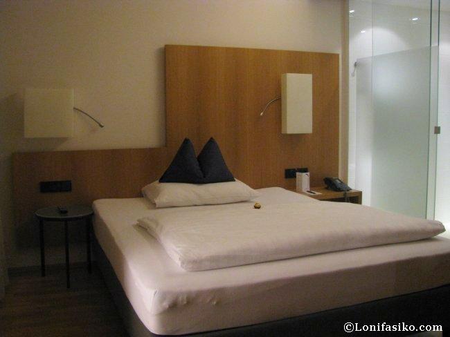 Habitación del Hotel Maximilian en Innsbruck