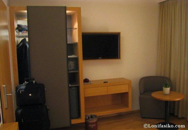 Detalles de la habitación del Hotel Maximilian en Innsbruck