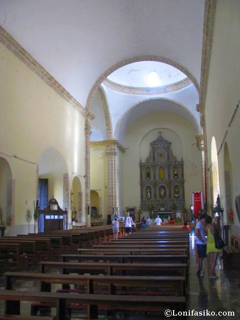 Interior de la iglesia de San Servacio o San Gervasio, en Valladolid
