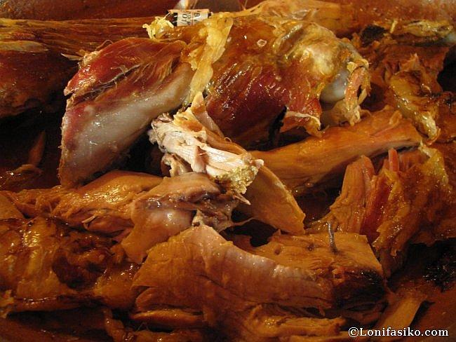 Comer lechazo en Aranda de Duero