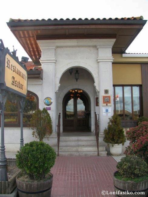 Entrada al Restaurante Asador Tudanca