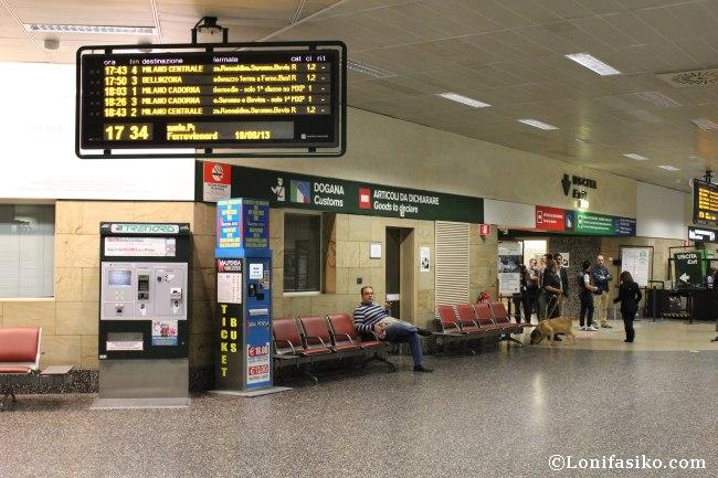 Horarios del Malpensa Express