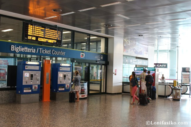 Precio del billete del Malpensa Express