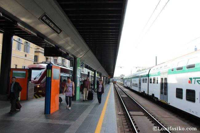 Estación Milano Nord-Cadorna en Mián