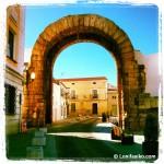 Arco de Trajano, en Mérida
