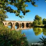 Puente romano sobre el río Guadiana en Mérida