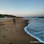 Amanecer en la zona de playa de la Torre del Puerco