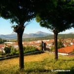 Vistas desde el Mirador de la Cruz en Candelario