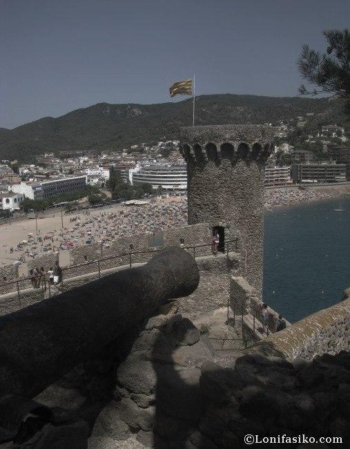 vila vella castillo en tossa de mar