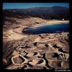 Perspectiva sobre el castro celta de Castro de Baroña