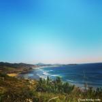 Playas contiguas al castro celta Castro de Baroña