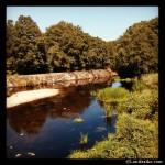 Río Arnoia a su paso por Meire, cerca de Allariz