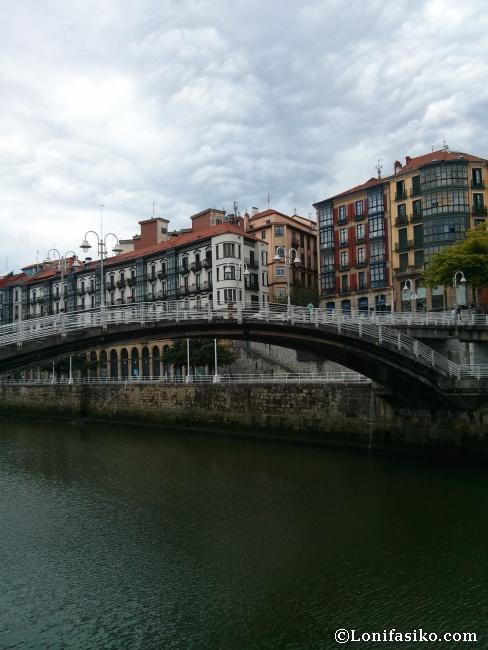 Puente de la Ribera Bilbao fotos