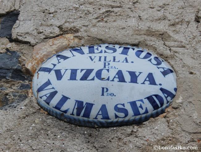 Villa Lanestosa Encartaciones Señorío Vizcaya