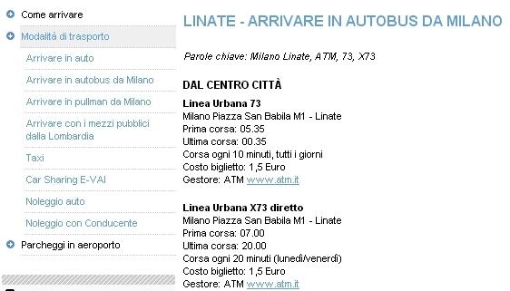 Transporte público desde Linate a Milán