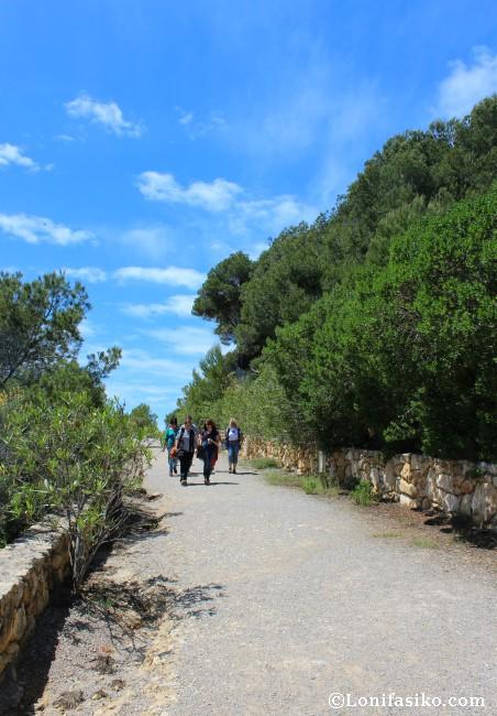 Camí de Ronda Recorrido Playa La Mora Castell Tamarit