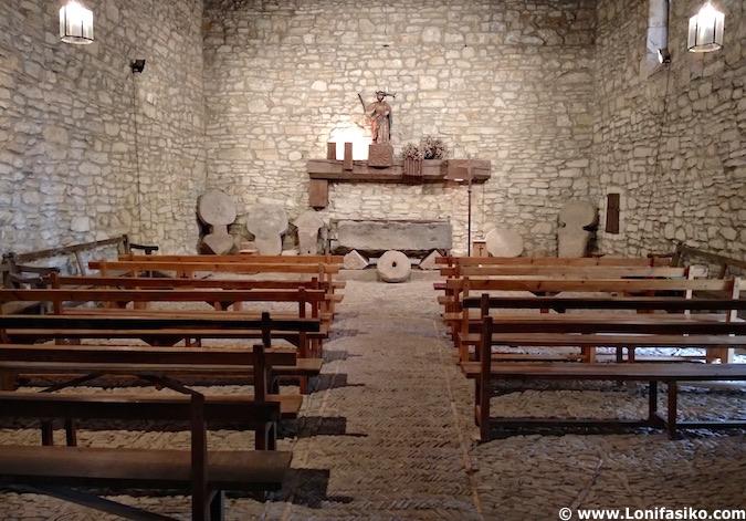 Iglesia San Adrián necrópolis Argiñeta Elorrio